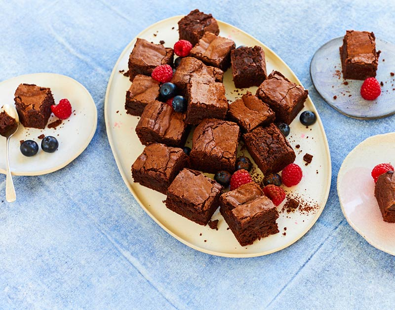 Clarence court Choloate Chip Brownies